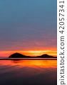 부모 하마 (ちちぶがはま) - 일본의 우유 니 소금 호수라고도 불리는 세토 나이 카이의 하늘 거울 - 42057341