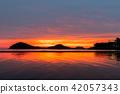 부모 하마 (ちちぶがはま) - 일본의 우유 니 소금 호수라고도 불리는 세토 나이 카이의 하늘 거울 - 42057343