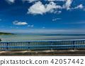 沖繩海景夏天駕駛圖像 42057442