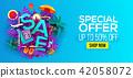 banner, sale, summer 42058072
