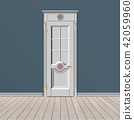white entrance door 42059960