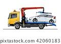 vector tow truck 42060183