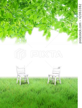 2 개의 의자의 공간 42061082