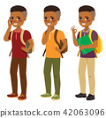 African American Student Boy 42063096