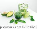avocado, green, blender 42063423