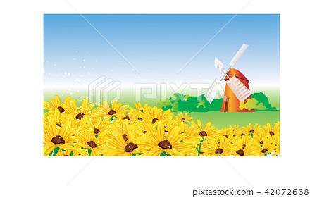 Illustration, autumn image 42072668