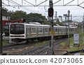 การเดินทางในแต่ละวัน,ราง,ทางรถไฟ 42073065
