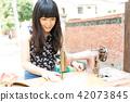 亞洲台灣台中霧峰光復新村美女人像中國風女人人像裁縫機俏皮生氣 42073845