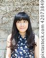 亞洲台灣台中霧峰光復新村美女人像中國風女人人像裁縫機俏皮生氣 42073849