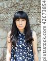 亞洲台灣台中霧峰光復新村美女人像中國風女人人像裁縫機俏皮生氣 42073854
