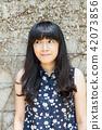 亞洲台灣台中霧峰光復新村美女人像中國風女人人像裁縫機俏皮生氣 42073856