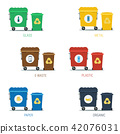 container garbage icon 42076031