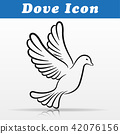 dove design on white background 42076156