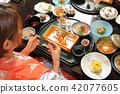 hot-spring hotel, yukata, dietary 42077605