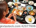 hot-spring hotel, yukata, dietary 42077606