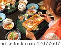 hot-spring hotel, yukata, dietary 42077607