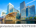 Canary Wharf on the Isle of Dogs in Greater London 42079308