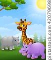 animal, animals, giraffe 42079698