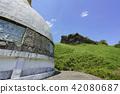camel, mountain, stupa 42080687