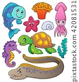 Sea life theme collection 1 42081531