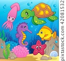 Sea life theme image 1 42081532