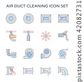 duct cleaning icon 42082731