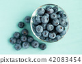blueberries, blueberry, harvest 42083454
