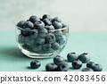 blueberries, blueberry, harvest 42083456