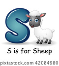 Animals alphabet: S is for Sheep 42084980