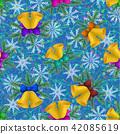 Christmas Seamless Background 42085619