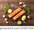 三文鱼 鲑鱼 柠檬 42087300