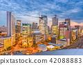 Osaka, Japan Umeda Cityscape 42088883