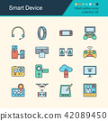 Smart Device icons.  42089450