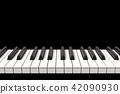 피아노의 건반 음악 42090930