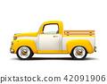 retro two color pickup 42091906