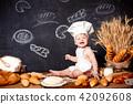 boy, bread, child 42092608