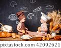 baby, child, bread 42092621