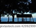 新喀裡多尼亞安斯巴塔的海灘努美阿 42092999