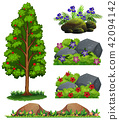 A Set of Forest Element 42094142