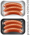 A Set of Sausage 42094200
