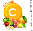 A Set of High Vitamin C Fruit 42094218