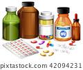 Set of various medicines 42094231