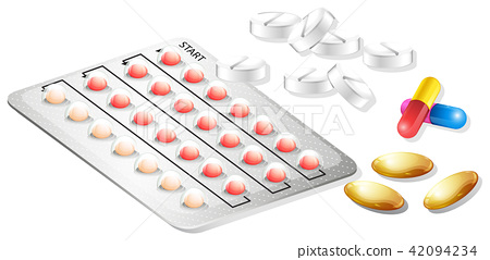 A Set of Drug and Tablet 42094234