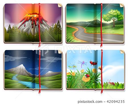 A Set of Landscape Book 42094235