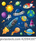 ช่องว่าง,อวกาศ,นักบินอวกาศ 42094397