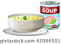 Pea and Ham Soup in Can 42094501