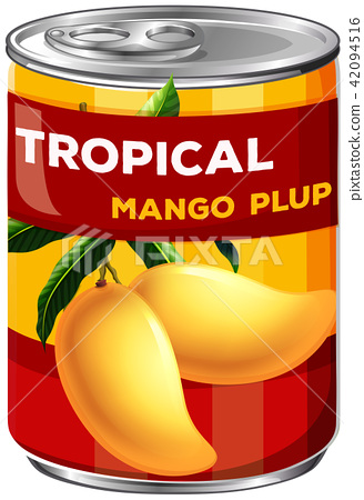 A Can of Mango Plup 42094516