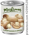 A Can of Mushroom 42094520