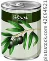 A Can of Black Olives 42094521