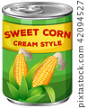 A Can of Sweet Corn Cream Style 42094527